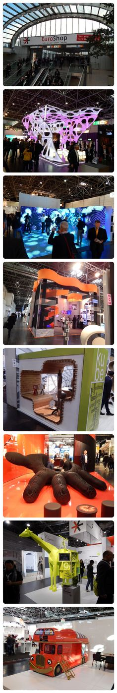 EUROSHOP 2014 - DUSSELDORF 01. Series of exhibition booths - amazing