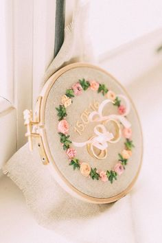 Rustic wedding on Gut Sedlbrunn - Sarah Röckel - - Rustikale Hochzeit auf Gut Sedlbrunn Rustic wedding at Gut Sedlbrunn Wedding Tags, Wedding Ring Box, Wedding Blog, Diy Wedding, Rustic Wedding, Wedding Ceremony, Wedding Embroidery, Ribbon Embroidery, Ring Pillows