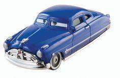 Disney/Pixar Cars, Radiator Springs Die-Cast, Doc Hudson #14/15, 1:55 Scale