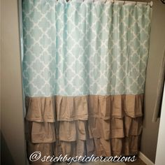 New shower curtain design!