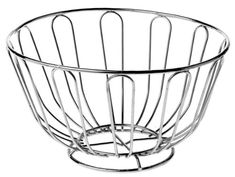 Premier Housewares Wire Fruit Basket - 24 cm - Chrome Premier Housewares http://www.amazon.co.uk/dp/B004QA8CC8/ref=cm_sw_r_pi_dp_JihKvb14E6DJR