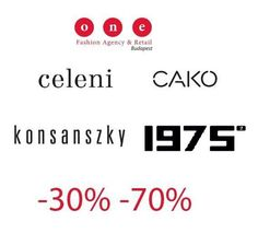 #konsanszky #1975 #celeni #cako #-30% #-70% #sale Fashion Agency, Designers, Company Logo, Logos, Logo