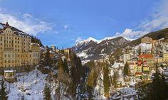 Skiing and spas in Bad Gastien, Austria