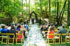 Simple Elegant Mountain Wedding in Western North Carolina