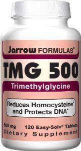 Jarrow Formulas TMG 500, 120 Tablets (Pack of 2) by Jarrow. Save 40 Off!. $17.98