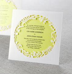 Laser-Cut Stationery from B Wedding Invitations
