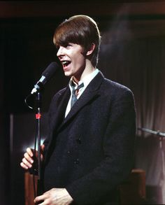 March 4, 1966 - Ready, steady, going...Bowie, not far removed from being David Jones, Bowie takes the British TV in a natty suit that would allow him to return to university, or an accounting job, after he finished singing