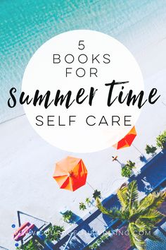 Check out my summer time reading list for ideas of what to read on your next vacation! Relax, rest, and take care of yourself.