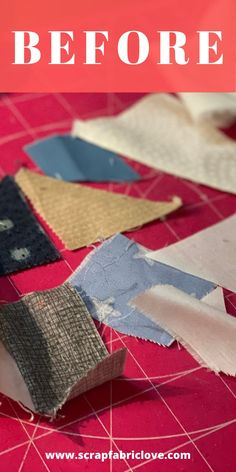 Turn your small scrap fabric pieces into fun and easy scrappy improv quilt blocks. Make a few a day and before you know it you'll have a whole scrappy quilt on your hands! A great way to manage the scrap pile and have fun playing at the same time! #scrappyquilts #scrappyquiltblock #improvsewing #improvquilting Scrappy Quilt Patterns, Beginner Quilt Patterns, Quilting For Beginners, Scrappy Quilts, Mini Quilts, Quilt Tutorials, Quilt Blocks, Scrap Fabric Projects, Small Sewing Projects