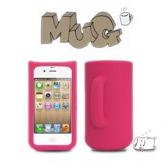 Mug iPhone 4/4S Silicon Case