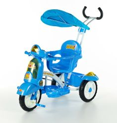Tricycle Scooter bleu - www.e-funkybaby.fr #efunkybabyfr #tricycle #bleu