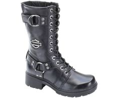 Eda, Black Harley Boots, Black Leather Shoes, Leather Boots, Black Shoes, 7a9526457e