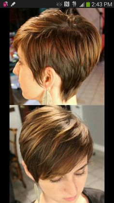 Love the hair super cute short hair cut