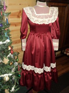 Girl's Elegant Victorian Tea dress by HeritageDressmakers on Etsy