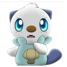 Look at his eyeIt's like you just chose him tour first starter and he doesn't even know how to react! Oshawott you are so adorable! x3