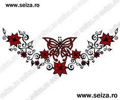 Butterfly tattoo / Lower back tattoo - Butterfly tattoos. Tramp Stamp Tattoos Meaning Back Tattoo Women Spine, Back Tattoos Spine, Cover Up Tattoos, Lower Back Tattoos, Pretty Girl Tattoos, Girl Back Tattoos, Tramp Stamp Tattoos, Classy Tattoos For Women, Butterfly Tattoo Cover Up