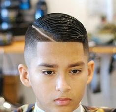 Hot Haircuts, Boy Hairstyles, Kids Fade Haircut, Hair And Beard Styles, Short Hair Styles, Beard Cuts, Hair Cutting Techniques, Arched Eyebrows, Mens Hair Trends