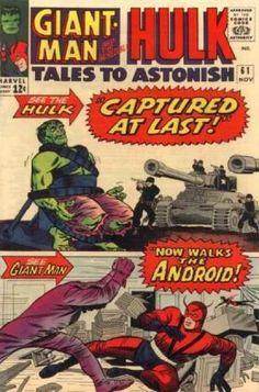Hulk - Tank - Captured - Giant Man - Marvel - Jack Kirby