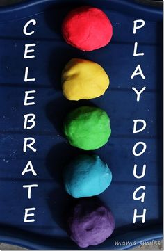 Play dough is a classic toy that never gets old! I love these play dough recipes and activities!