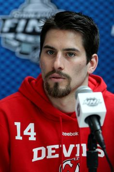 Adam Henrique from the New Jersey Devils.  THOSE EYES!