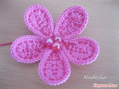 fiori | Hobby lavori femminili - ricamo - uncinetto - maglia