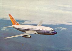 Boeing Aircraft, Passenger Aircraft, International Civil Aviation Organization, Air Photo, Commercial Aircraft, World Pictures, South Africa, Old Things, Vintage Airline