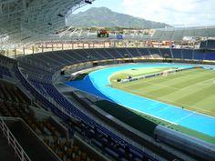 Remodelación y ampliación del estadio olímpico Hernán Ramirez Villegas, Pereira, Colombia - Juan Carlos Rodríguez; diseño original: Hernán Ramirez Villegas
