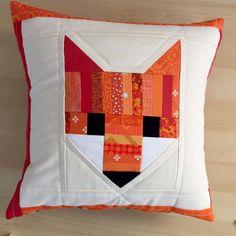Fancy Fox Quilt : Work In Progress - The Sweeter Side of Mommyhood Patchwork Pillow, Quilted Pillow, Fox Pillow, Owl Pillows, Cushions, Heart Pillow, Burlap Pillows, Decorative Pillows, Fox Quilt