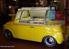 Fiat 500 Ice Cream Car in Fertilia Sardegna   #TuscanyAgriturismoGiratola