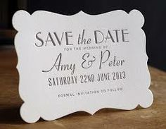 wedding save the date cards - Google Search