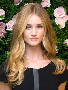 Image result for rosie huntington-whiteley hair