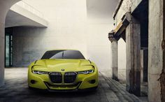 BMW 3.0 CSL Hommage. Racing flair with a touch of class.