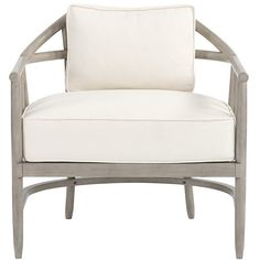 Ballard Designs New York Chair Danish Linen Oatmeal ($649) ❤ liked on Polyvore featuring home, furniture, chairs, accent chairs, danish linen oatmeal, linen chairs, hand made furniture, handmade furniture, ballard designs chairs and ballard designs furniture