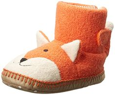 Soft upper Flexible sole Non-marking outsole Fox Slippers, Kids Slippers, Orange Flats, Amazon Sale, Kids Corner, Hanna Andersson, Cool Items, Big Kids, Dinosaur Stuffed Animal