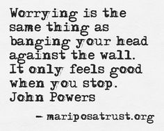 #Worry #Peace #Quote #Loss #Trust