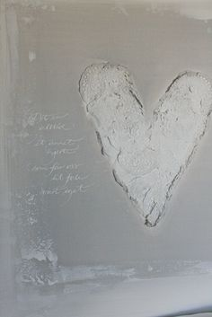 textured heart, wood panel background