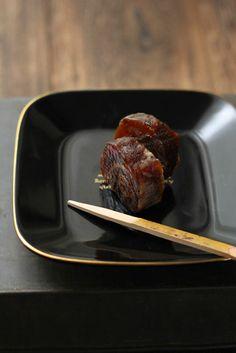 Wagashi, 柿巻 persimmon 山柿庵, Okayama