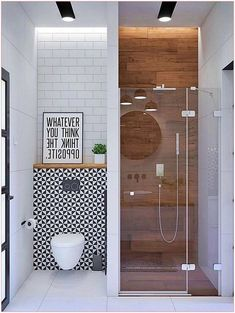 46 Trendy Ideas For Bath Room Design Ideas Shower Tile Bathroom Design Inspiration, Modern Bathroom Design, Bathroom Interior Design, Design Ideas, Bath Design, Interior Ideas, Modern Design, Simple Bathroom, Bathroom Small