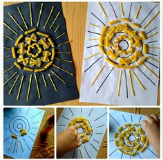 Craft Activities For Kids, Projects For Kids, Children, Crafts, School, Initials, Activities For Kids, Art, Kids