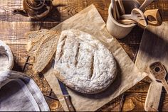 La petite recette de pain au levain The Fresh, Times, Recipe For Sourdough Bread, Kitchens
