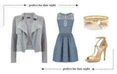 """""""Date Night"""" by lia-fashion on Polyvore featuring Mint Velvet, Oasis, River Island and MICHAEL Michael Kors"""