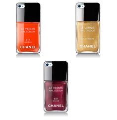 Coque Vernis Chanel pour iPhone 5. €18,90, via Etsy.