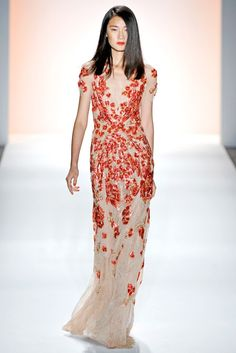 Jenny Packham Spring 2012 Ready-to-Wear Fashion Show Collection
