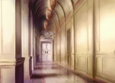 Hall, Background, Anime Background, Anime Scenery, Visual Novel Scenery, Visual…
