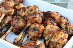 grilled curry rum lollipop chicken AMAZING CARIBBEAN RECIPIES ON THIS SIGHT!