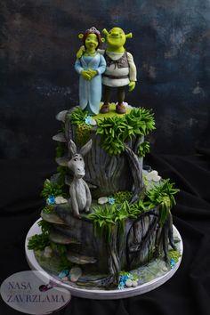 Shrek Cake by Nasa Mala Zavrzlama