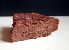 Brownie fudge vegan (aux pois chiches)