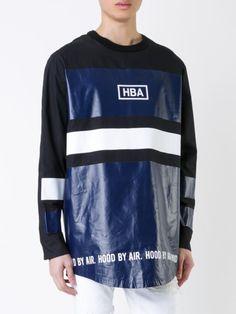 Hood By Air Camiseta mangas longas