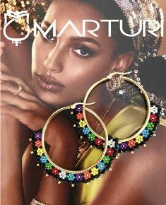 Heart Shaped Diamond Stud Earrings, Raw Diamond and Gold Fill Jewelry, Aries Zodiac Birthday Gift, April Birthstone Earrings, Rough Gems - Fine Jewelry Ideas Seed Bead Jewelry, Seed Bead Earrings, Diy Earrings, Bridal Earrings, Beaded Jewelry, Stud Earrings, Beaded Earrings Patterns, Beaded Tassel Earrings, Brick Stitch Earrings