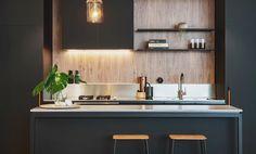 4003 Sleek Concrete™ by Caesarstone Diy Bathroom Decor, Kitchen Decor, Kitchen Interior, Kitchen Ideas, Granite, Stone Benchtop, Small Bathroom Renovations, Kitchen Remodeling, Smooth Concrete